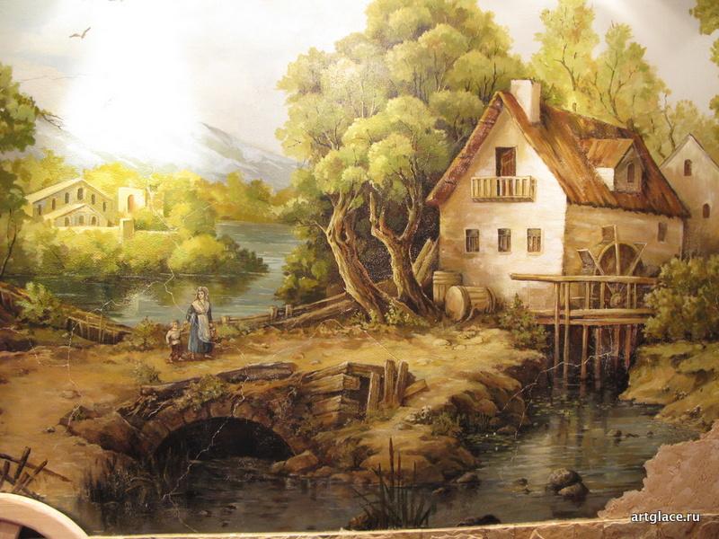 Роспись стен - фреска
